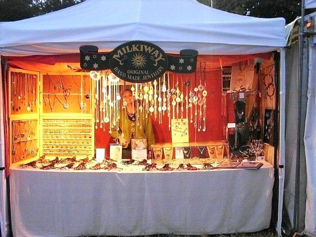 Pin By Milkiway Jewellery On Milkiway Designs From Silver And Stone Market Stall Display Stall Display Craft Stalls