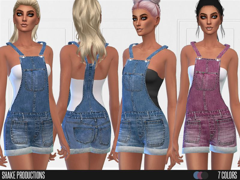 -3D New Mesh  Found in TSR Category 'Sims 4 Female Everyday'