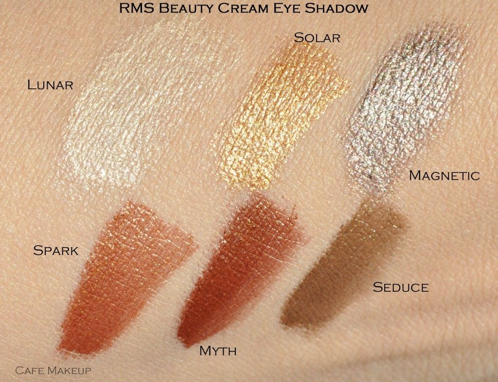 Rms Beauty Cream Eye Shadow Swatches Cream Eyeshadow Eye Shadow Swatch Rms Beauty