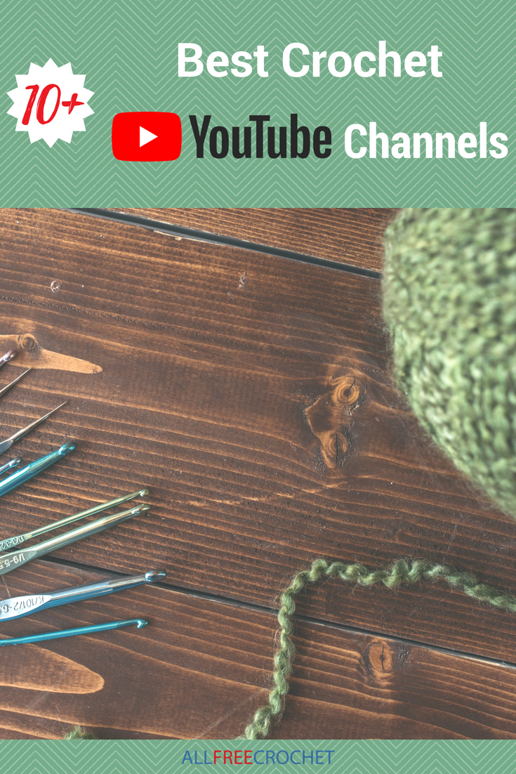10+ Best Crochet YouTube Channels | crochet | Pinterest | Tejido ...