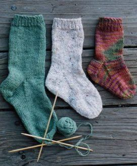 Knitting Pure and Simple Sock Patterns - 203 - Easy ...