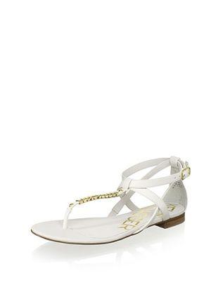 61% OFF Kelsi Dagger Women's Kimmy Metal Sandal (White)