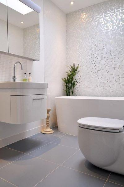 Des rev tements muraux top tendance dans la salle de bains bathrooms badezimmer badezimmer - Revetements muraux salle de bain ...