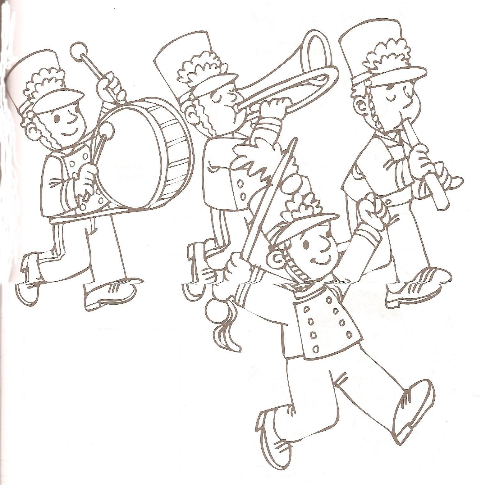 Banda De Musica 2 Jpg Image Dibujos Paginas Para Colorear Te Falle