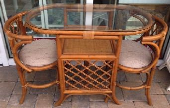 Pleasing This Rattan Table For Two Is Called A Honeymoon Set The Beutiful Home Inspiration Aditmahrainfo