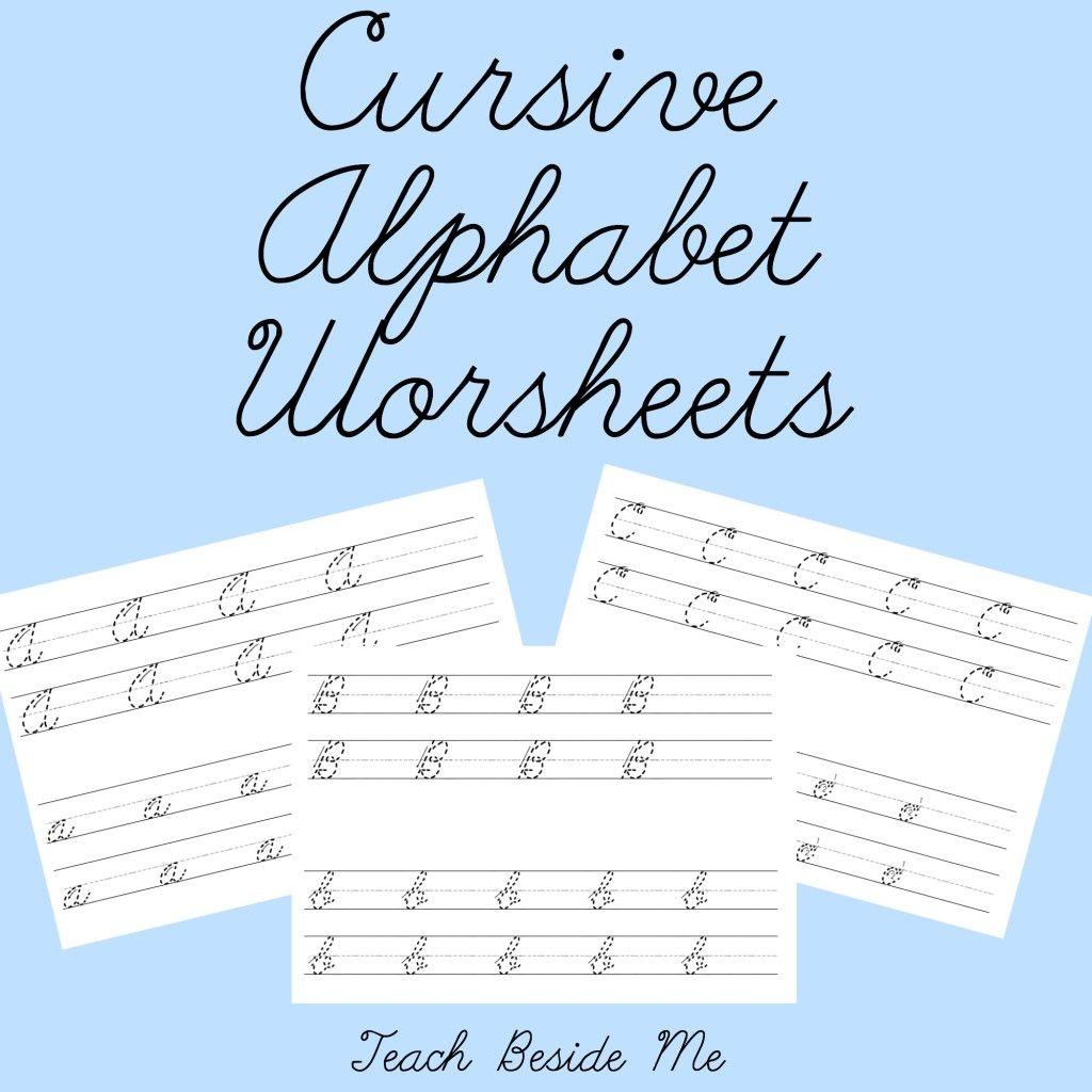 cursive alphabet worksheets child crafts and stuff alphabet worksheets teaching cursive. Black Bedroom Furniture Sets. Home Design Ideas