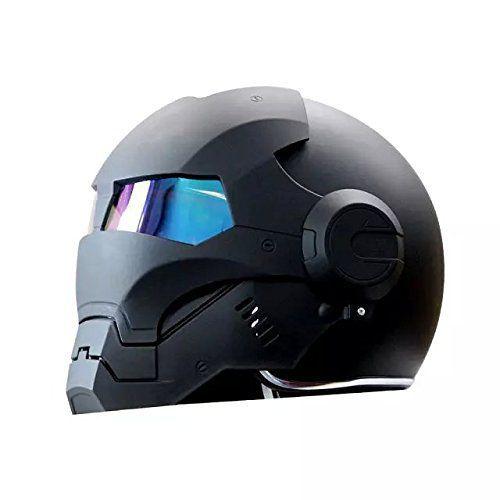 Casque Moto Iron Man Masei 610 Marvel Avengers Noir 500 X 500
