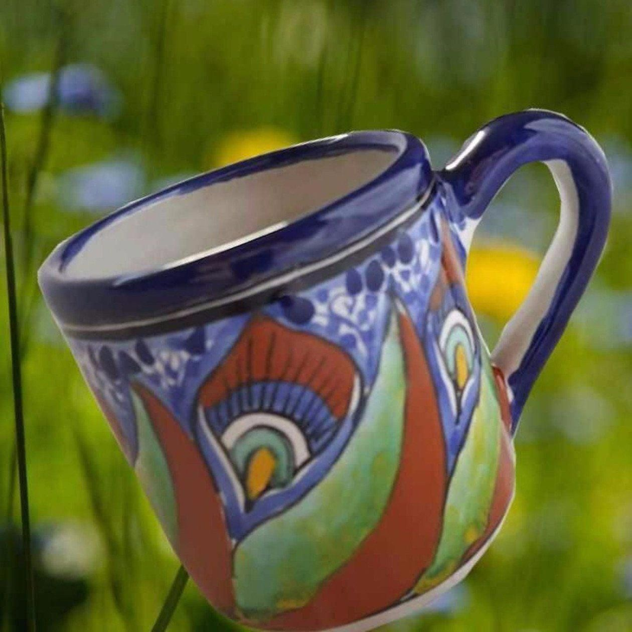 Centuries Old Traditions The Aguacatetalavera Mexican Pottery Coffee Mug Is