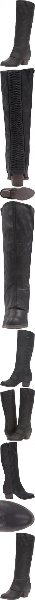 Fergalicious Women's Lundry Western Boot, Black, 6.5 M US