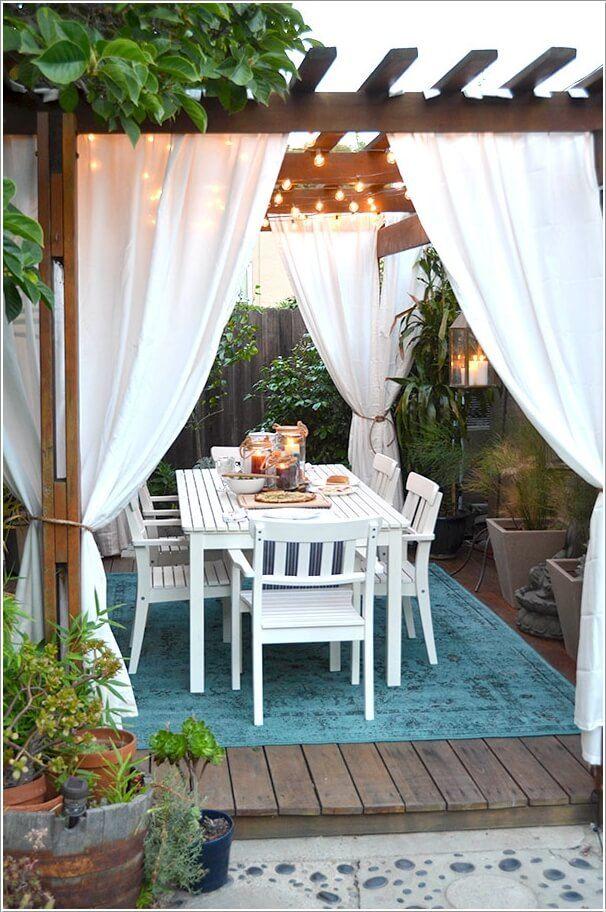 Se faire un petit coin repas dans son jardin 20 exemples for Coin arredamento