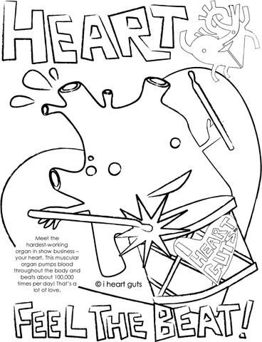 I Heart Guts Happy Plush Organs Bring A Smile To Your Face And Smarts To Your Brain Named Best Of Toy Fa Human Body Systems Heart Coloring Pages Heart Anatomy