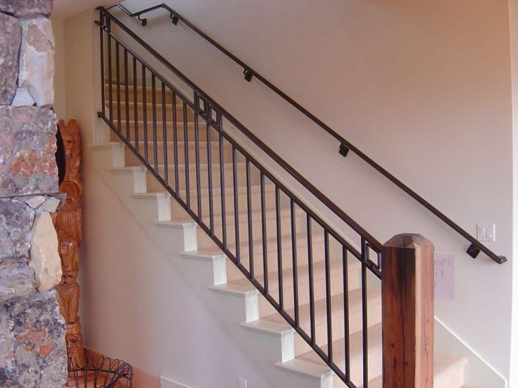 Tighten The Stair Handrails Indoor Stair Railing Stair Railing | Metal Handrails For Indoor Stairs | Baluster | Indoor Outdoor | Staircase Remodel | Stainless Steel | Stair Treads