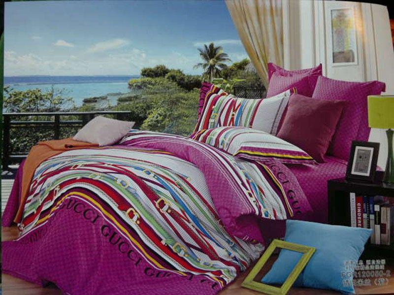 g nstig gucci bettw sche billig gut preiswert king size seide baumwolle bed set 6 teilig. Black Bedroom Furniture Sets. Home Design Ideas