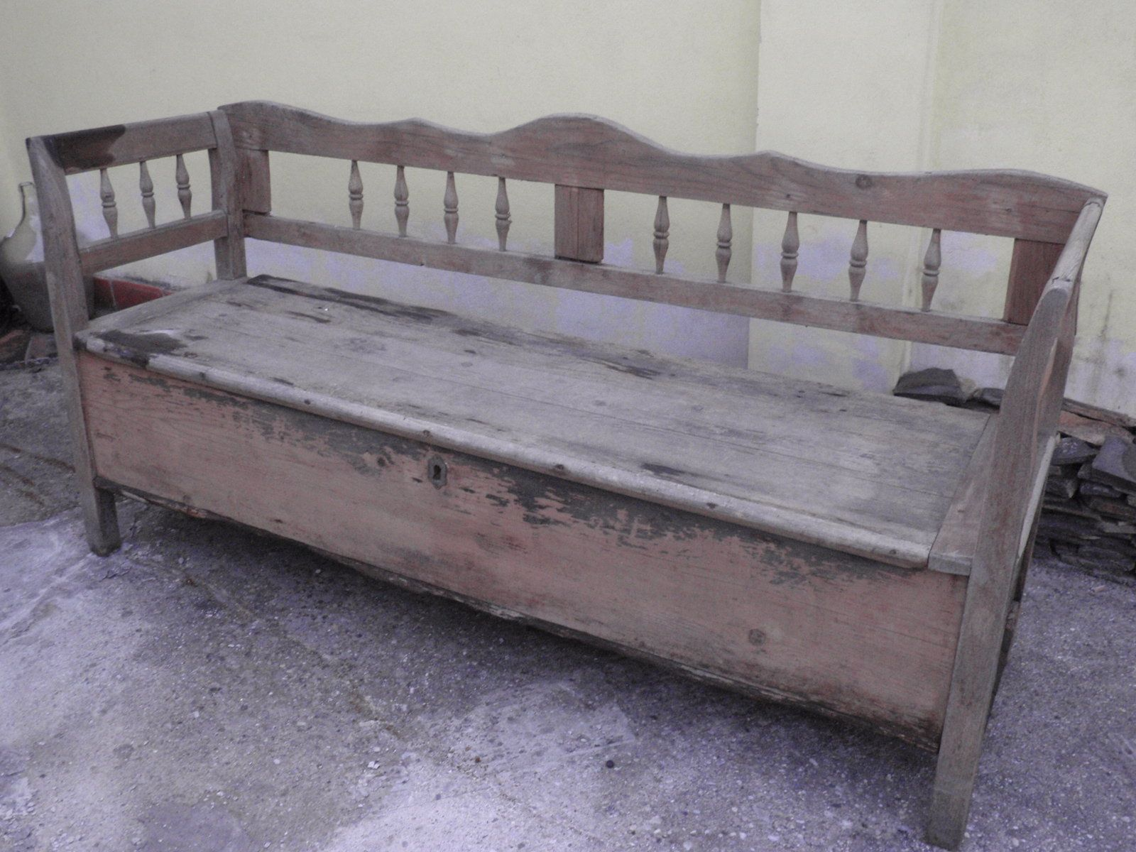 Foyer Bench Quotes : Antique bench slovak antiques and salvage pinterest