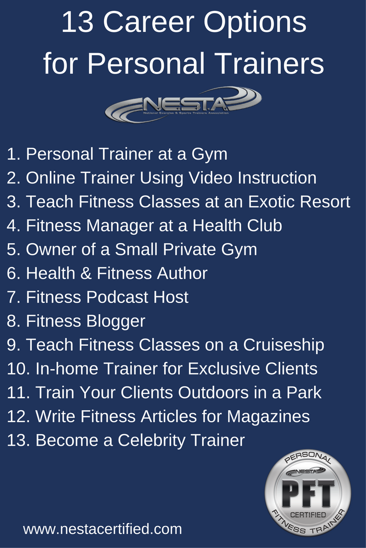Nesta Personal Trainer Certification Be Healthy Train Hard
