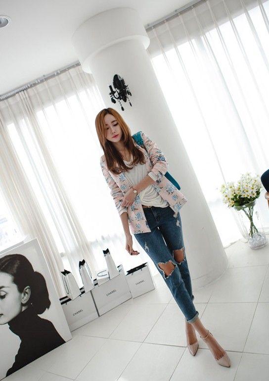Jeans rách: vừa bụi vừa duyên - Mặc đẹp - Zing News