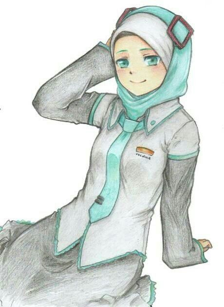 Anime Muslimah Manga Mania Islam Muslim Chibi Art