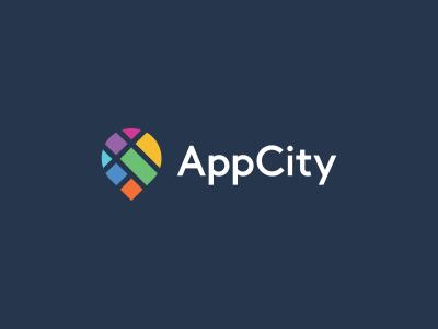 Appcity Map City Logo Design City Logos Design City Logo Logo Design