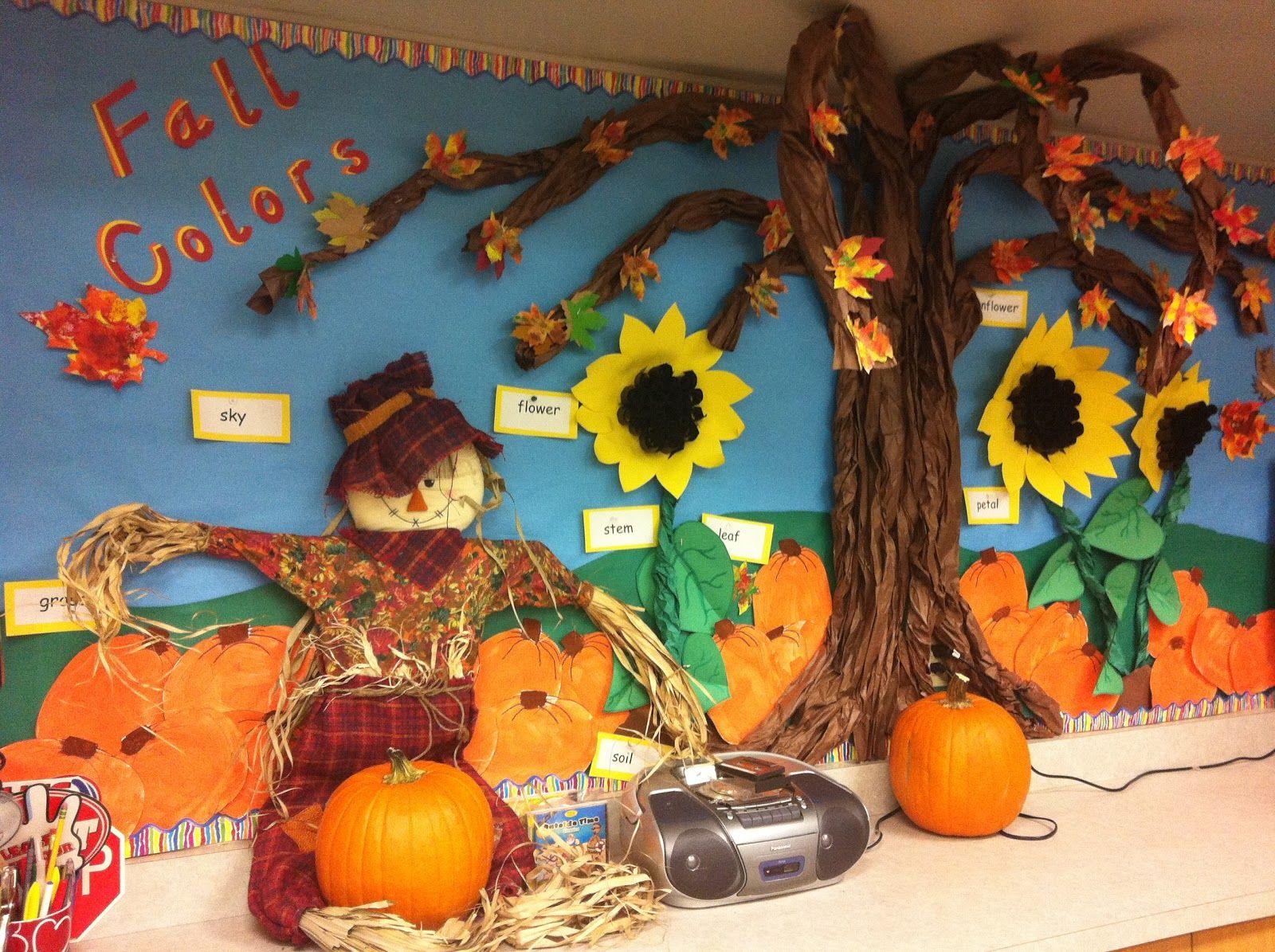 Preschool Classroom Fall Decorations : Little miss hood s adventures in kindergarten fall
