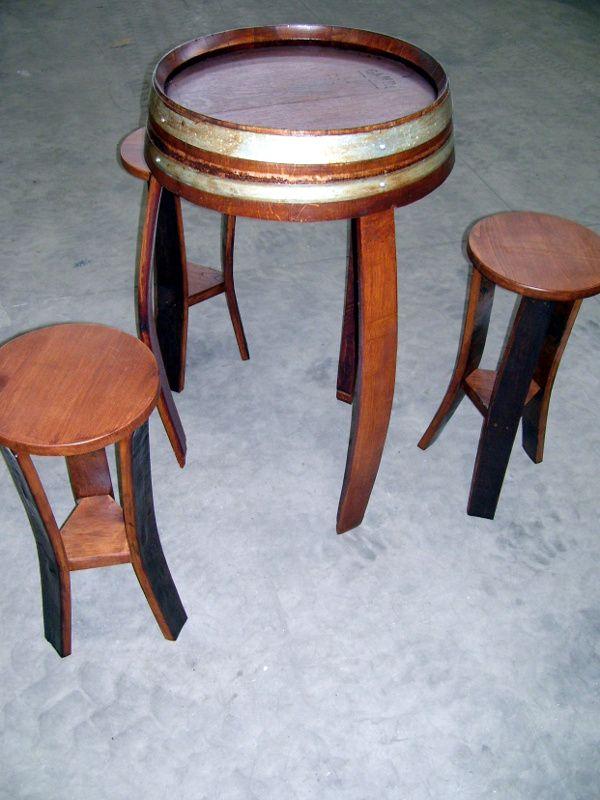 Sgabelli Pub Usati.1426 Tavolino Da Bar Con Sgabelli A 3 Piedi Da Barrique