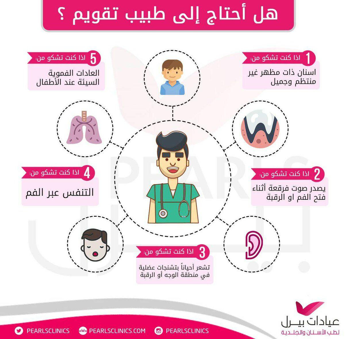 هل احتاج الي تقويم الاسنان مجمع عيادات بيرل اسنان جلدية ليزر الرياض الازدهار 0112632424 المونسيه 0544229299 Dentistry Teeth