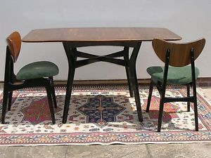E Gomme Mid Century G Plan U2013 6 Butterfly Chairs U0026 Drop Leaf Dining Table