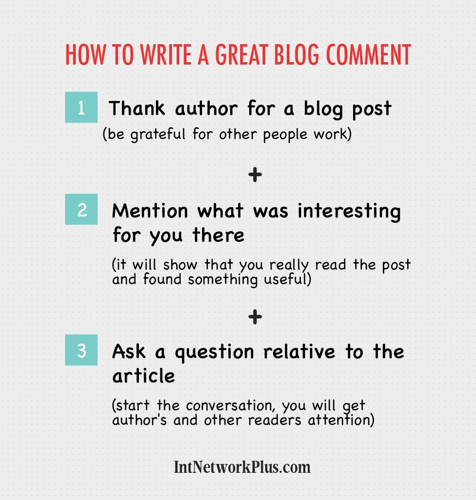 How to Write a Great Blog Comment Marketing articles