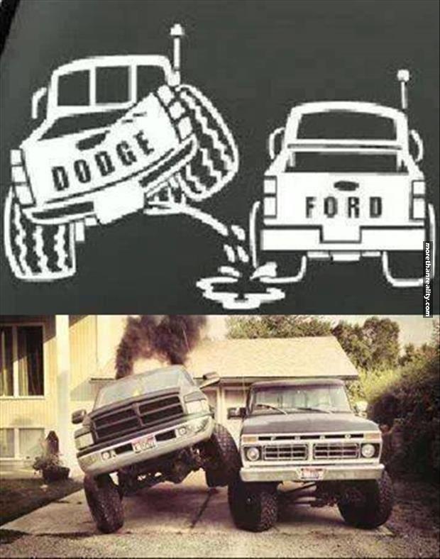 Dodge vs. Ford