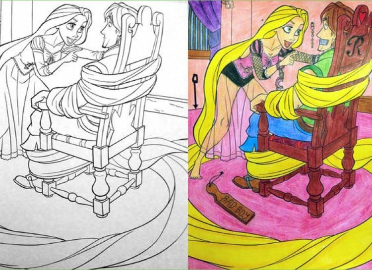24 Disturbing Coloring Book Corruptions Diply Funny