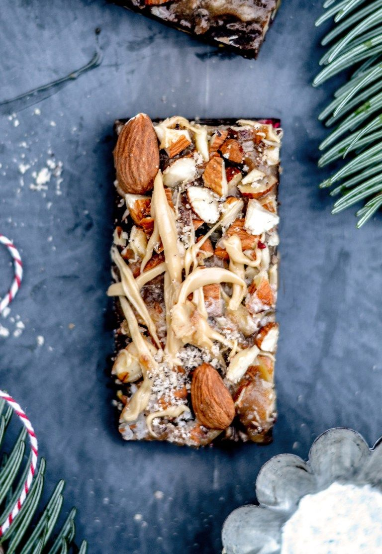 Photo of Sugar-free gingerbread confectionery with almond crunch – Justine kept calm & went vegan
