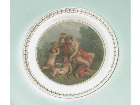 Autumn - Bacchus with Two Putti by A. Zucchi