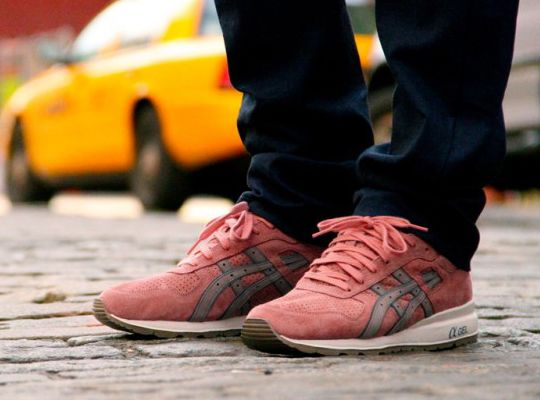 ronnie fieg asics gt ii rose gold