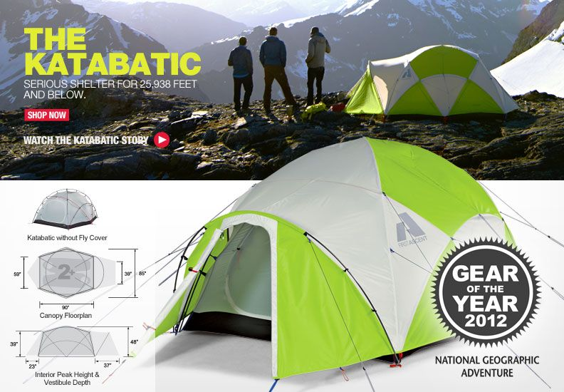 Eddie Bauer/First Ascent  Katabatic  tent & I have one like this :) Eddie Bauer/First Ascent