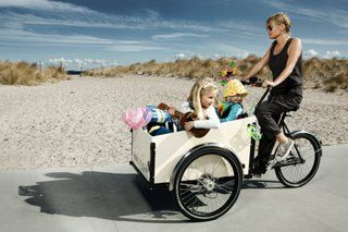Cargo Bike Review Christiania Box Cycle Family With Images