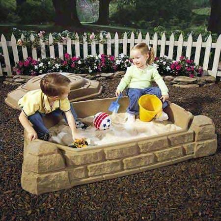 Naturally Playful Sandbox Walmart Com Outdoor Activities For