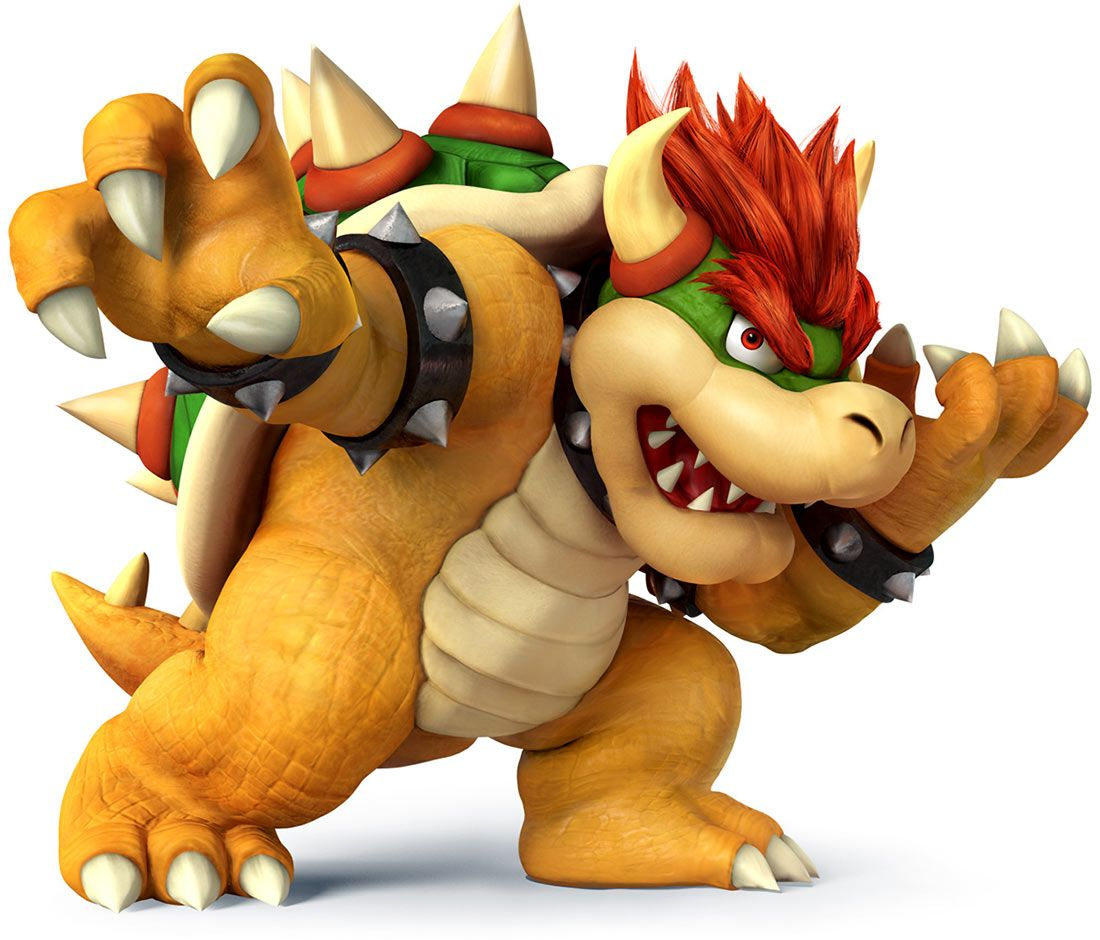 Bowser Characters Art Super Smash Bros For 3ds And Wii U