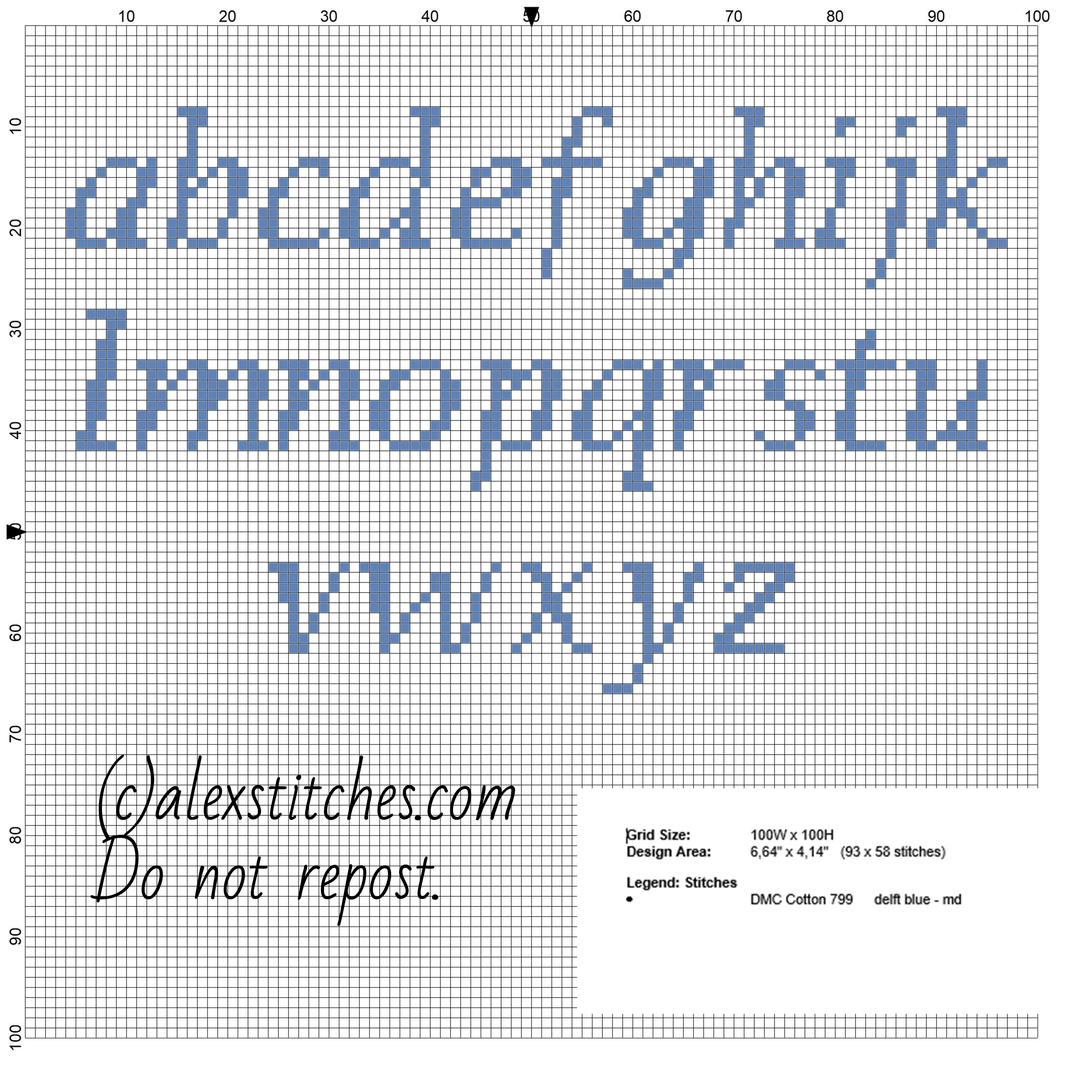 Cross stitch alphabet lowercase letters for names with cat Tom made ...