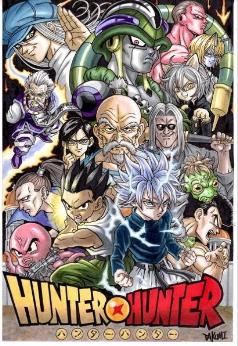 Crossover Dragon Ball Z Hunter X Hunter