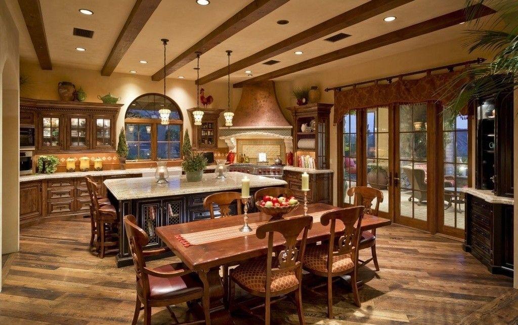 40+ Cozy Rustic Italian Kitchen Inspirations - cocinas italianas