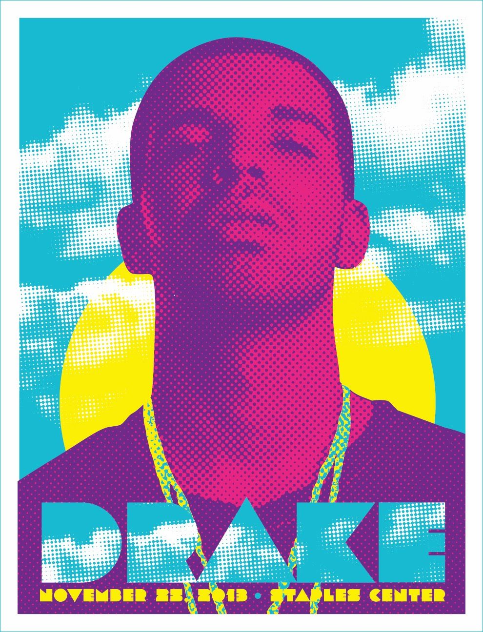 Poster design los angeles - Drake Los Angeles Poster By Kii Arens On Sale