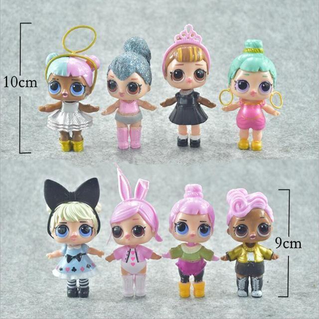 8pcs LoL Doll Unpacking High-quality Dolls Baby Tear Open Color Change Egg LoL
