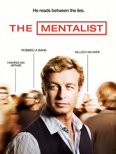 "The Mentalist (2008- ): A famous ""psychic"" outs himself as a fake and starts working as a consultant for the California Bureau of Investigation so he can find ""Red John,"" the madman who killed his wife and daughter."