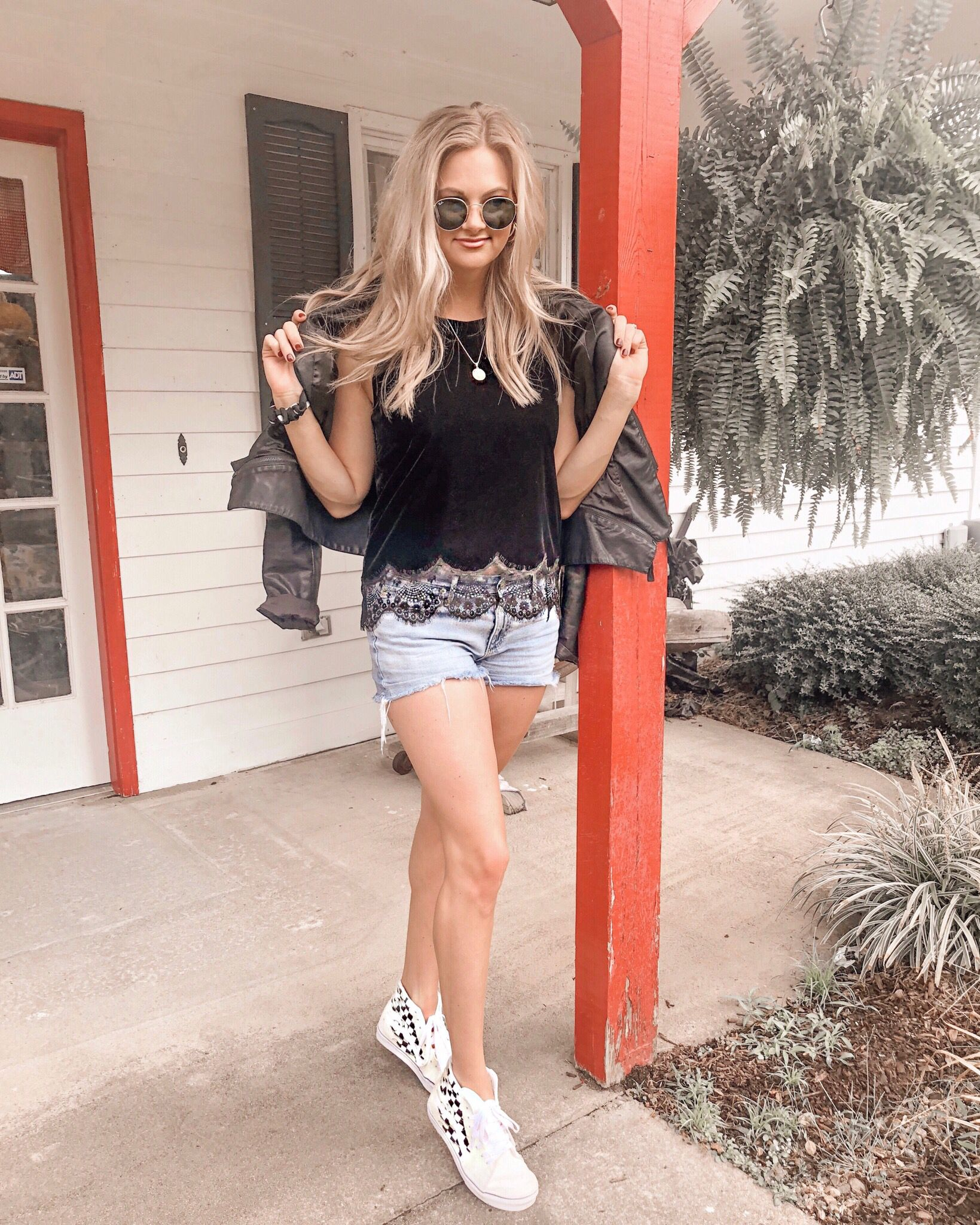 Designer Anna Cate shows how to dress down the Mia Top