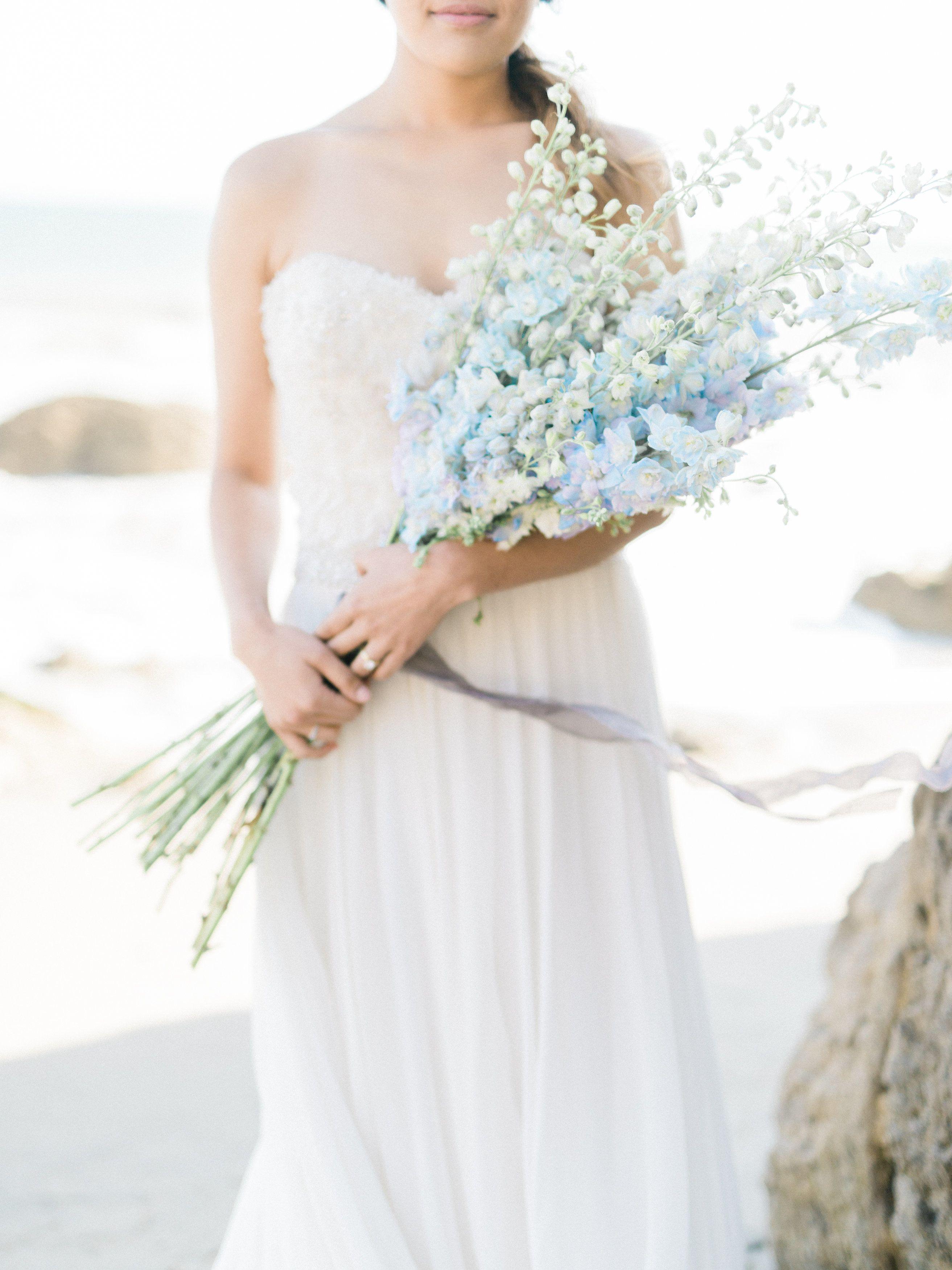 Elegant california coast inspiration shoot floral designs wedding