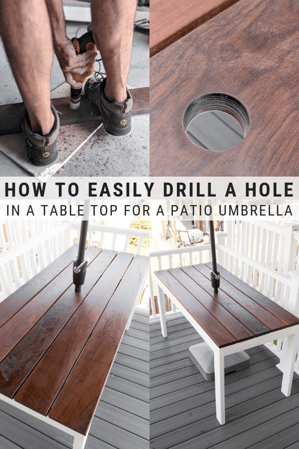 Slatted Outdoor Dining Table Build DIY 2x4 Patio