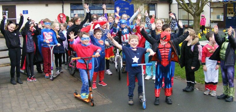 Big Pedal success in Cumbria http://www.cumbriacrack.com/wp-content/uploads/2017/04/Heron-Hill-Superhero-Day-Big-Pedal.jpg Schools in Cumbria clocked up over 19,000 journeys cycling and scooting to school during the Big Pedal, a national active travel to school challenge.    http://www.cumbriacrack.com/2017/04/11/big-pedal-success-cumbria/