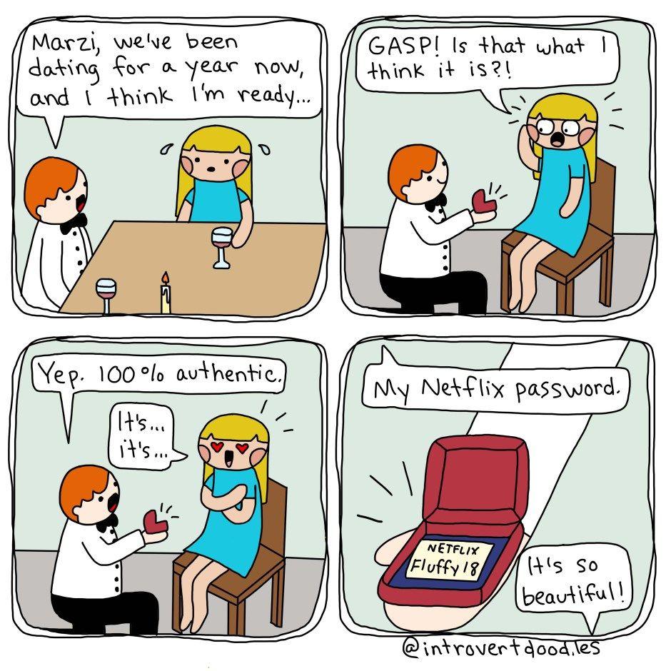 Dating en introvert personlighet