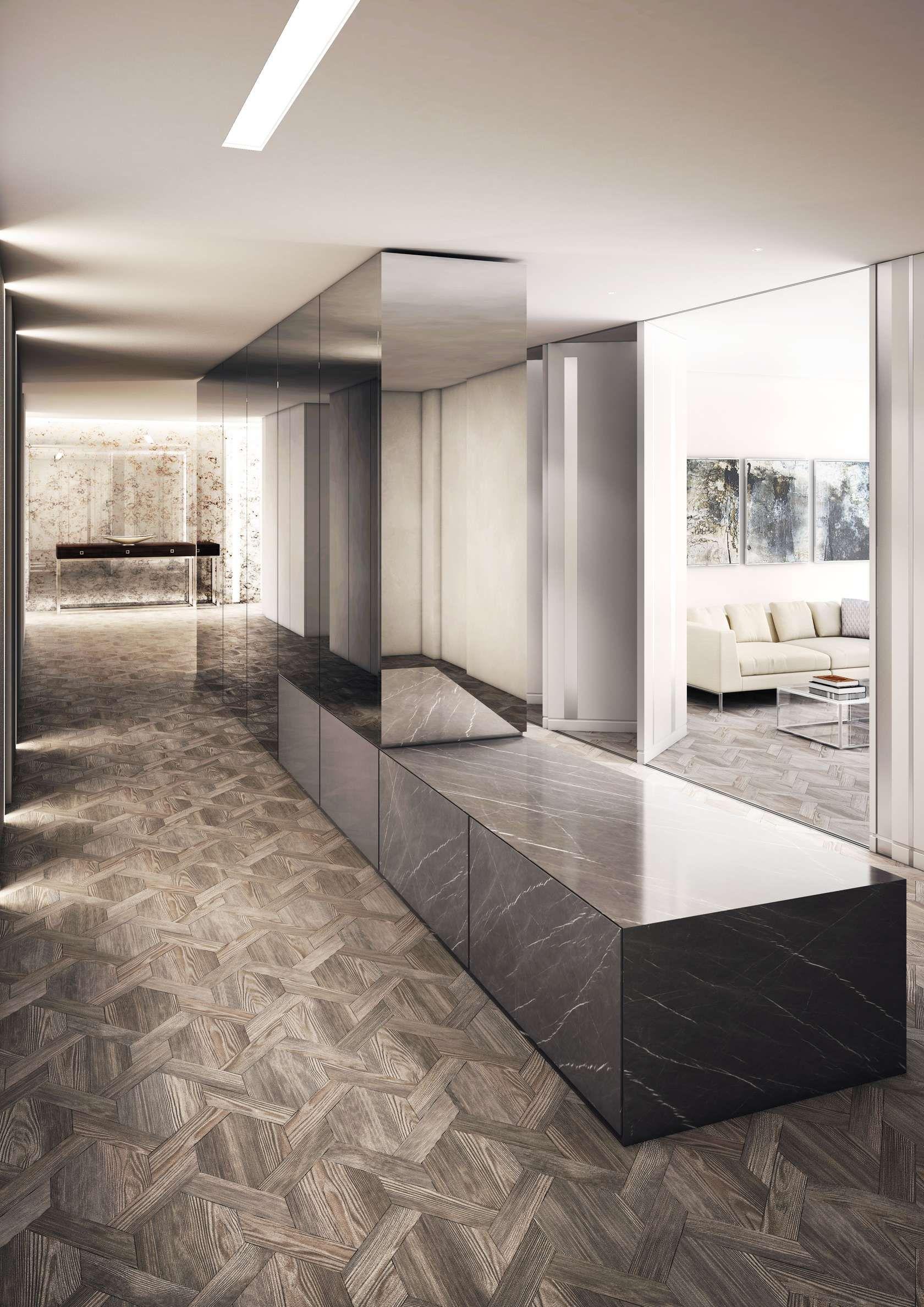 Post Office Apartment Interior Architecture Design Floor Design Residential Interior