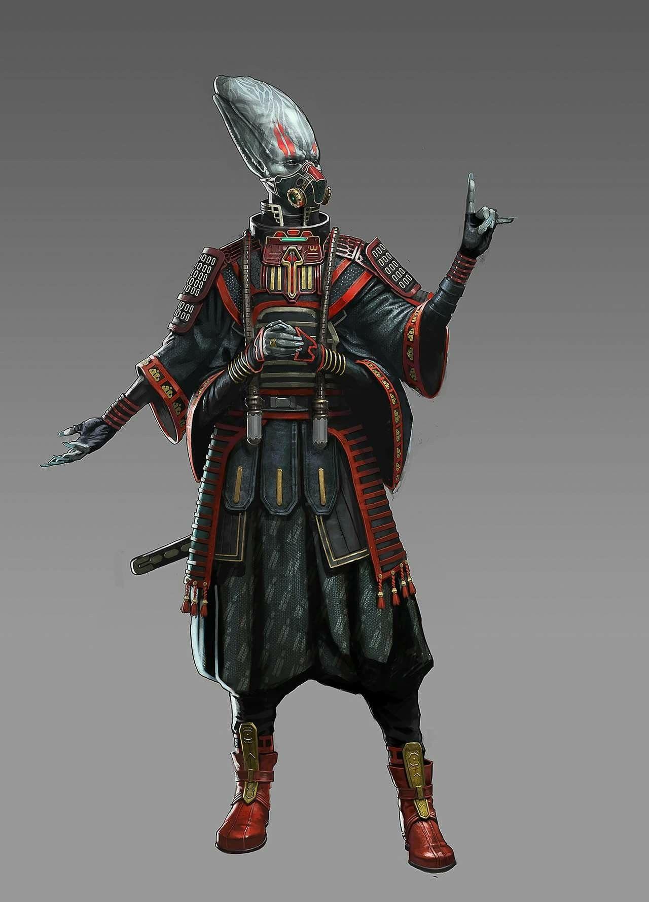 Alien Samuraiperhaps shani  Cberni Chck