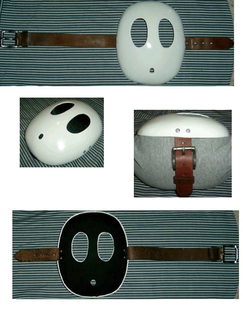 Shy Guy Mask Detail Shy Guy Mask Guys
